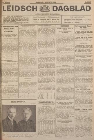 Leidsch Dagblad 1930-08-04
