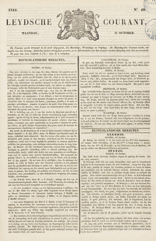Leydse Courant 1844-10-21