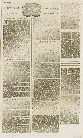 Leydse Courant 1822-10-09