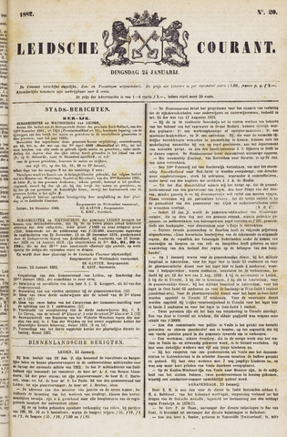 Leydse Courant 1882-01-24