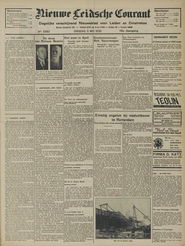 Nieuwe Leidsche Courant 1938-05-03