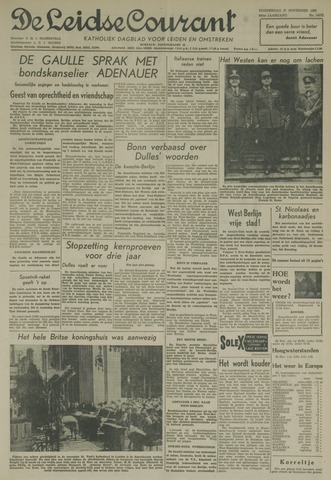 Leidse Courant 1958-11-27