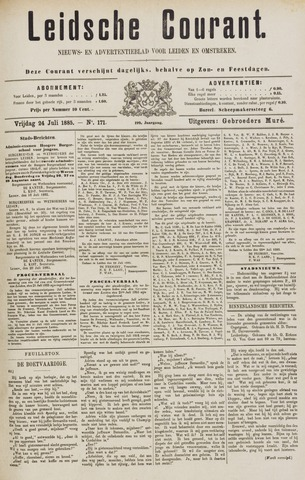 Leydse Courant 1885-07-24