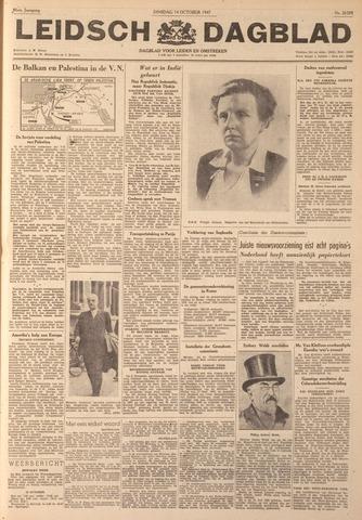 Leidsch Dagblad 1947-10-14