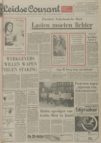 Leidse Courant 1974-04-23