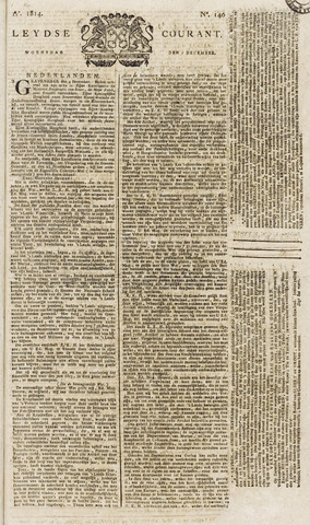 Leydse Courant 1814-12-07