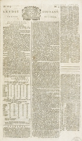 Leydse Courant 1819-01-08