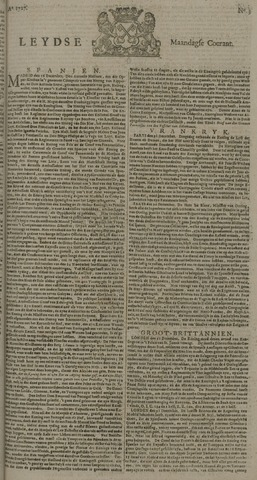 Leydse Courant 1727-01-06