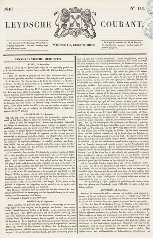 Leydse Courant 1846-09-16