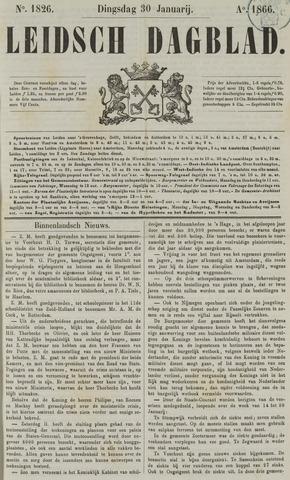 Leidsch Dagblad 1866-01-30