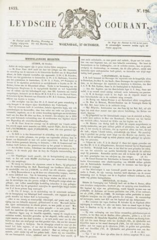 Leydse Courant 1855-10-17