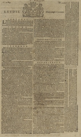 Leydse Courant 1763-10-03