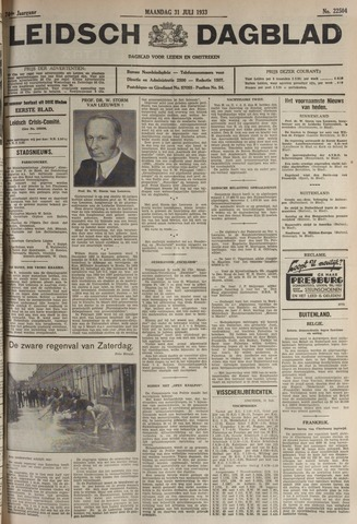 Leidsch Dagblad 1933-07-31