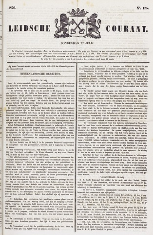 Leydse Courant 1876-07-27