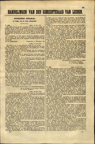 Handelingen van de Raad 1873-07-31