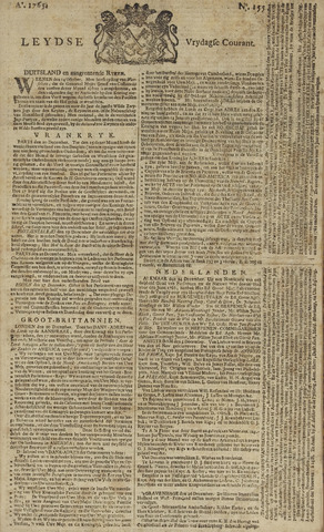 Leydse Courant 1765-12-27