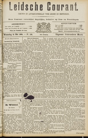 Leydse Courant 1890-05-22