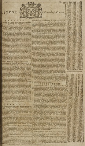 Leydse Courant 1770-03-21