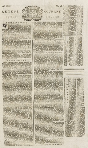Leydse Courant 1820-04-21