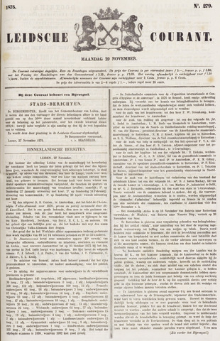 Leydse Courant 1875-11-29