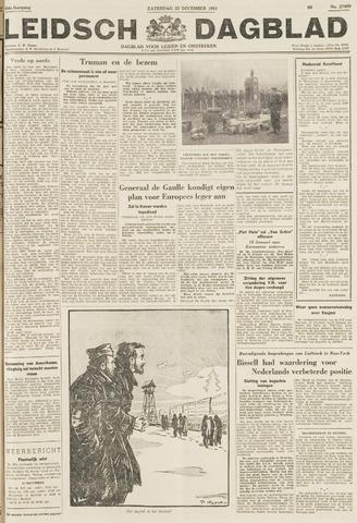 Leidsch Dagblad 1951-12-22