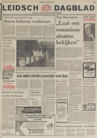 Leidsch Dagblad 1977-08-19