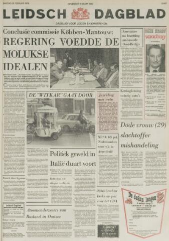 Leidsch Dagblad 1978-02-28