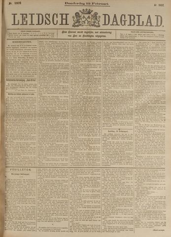 Leidsch Dagblad 1902-02-13