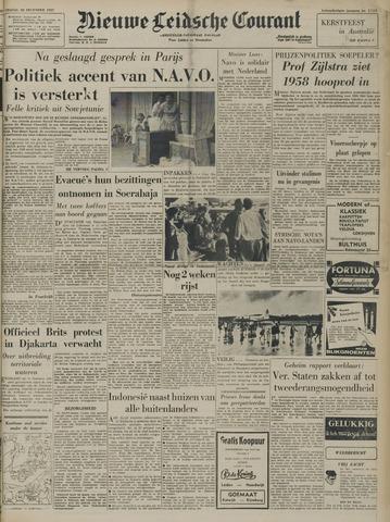 Nieuwe Leidsche Courant 1957-12-20