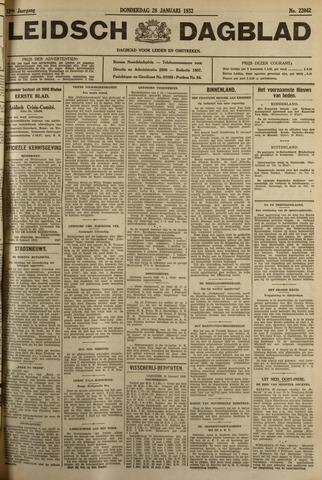 Leidsch Dagblad 1932-01-28