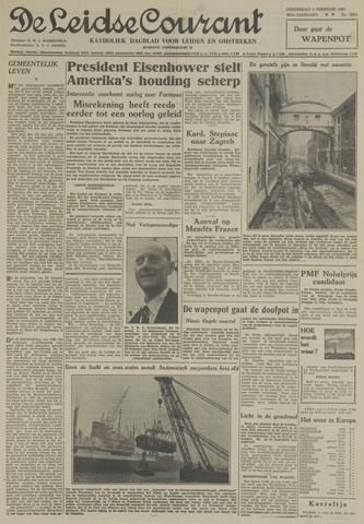 Leidse Courant 1955-02-03
