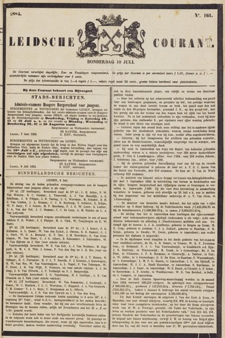 Leydse Courant 1884-07-10