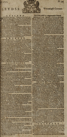 Leydse Courant 1751-07-28