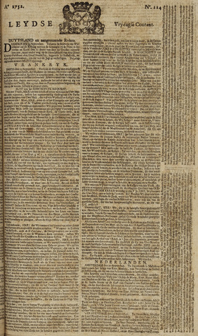 Leydse Courant 1752-09-22