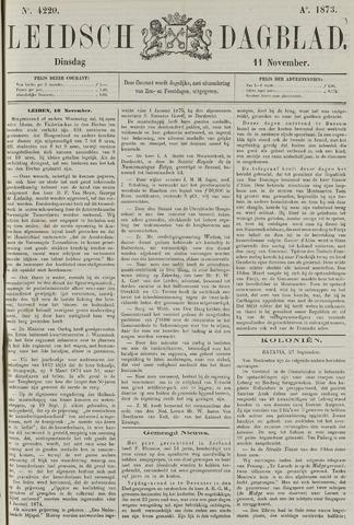 Leidsch Dagblad 1873-11-11