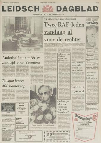 Leidsch Dagblad 1978-10-14