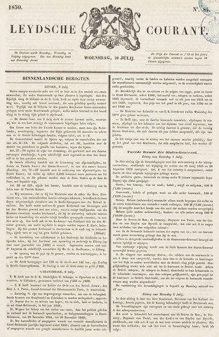 Leydse Courant 1850-07-10