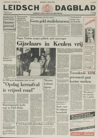 Leidsch Dagblad 1982-11-04