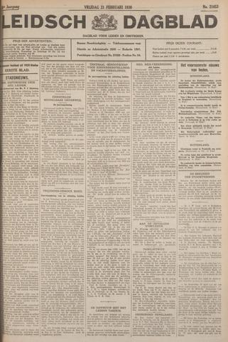 Leidsch Dagblad 1930-02-21