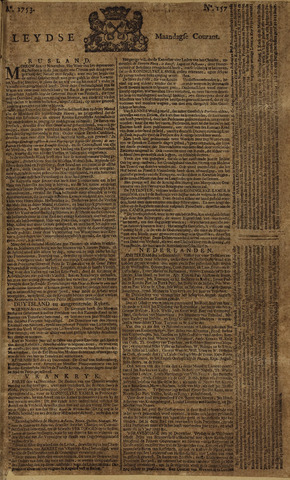 Leydse Courant 1753-12-31