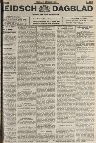 Leidsch Dagblad 1933-12-01