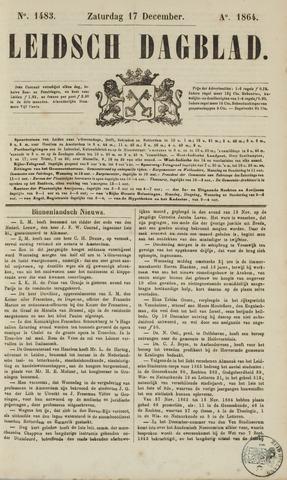 Leidsch Dagblad 1864-12-17
