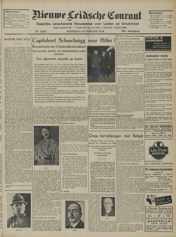 Nieuwe Leidsche Courant 1938-02-16