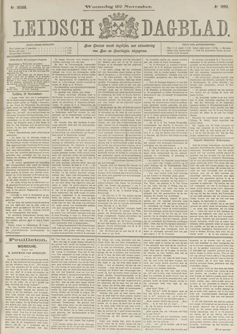 Leidsch Dagblad 1893-11-22