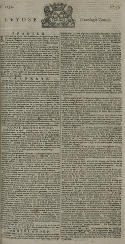 Leydse Courant 1734-04-26