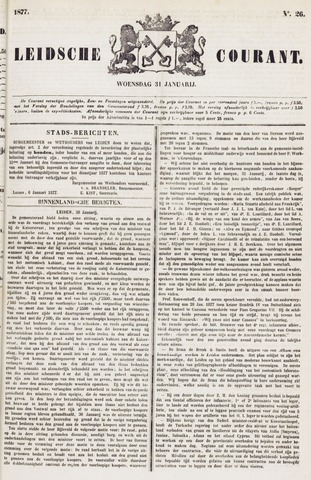 Leydse Courant 1877-01-31