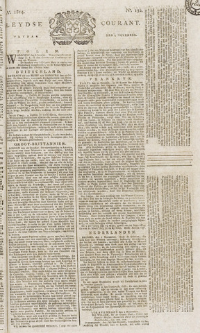 Leydse Courant 1814-11-04