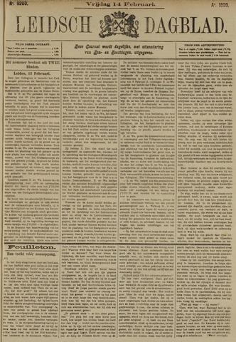 Leidsch Dagblad 1890-02-14