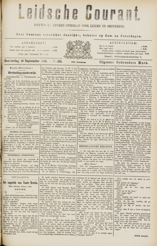 Leydse Courant 1889-09-19