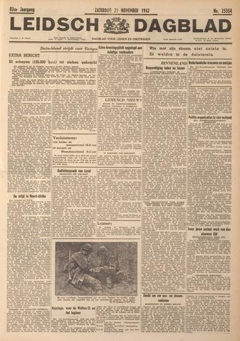 Leidsch Dagblad 1942-11-21